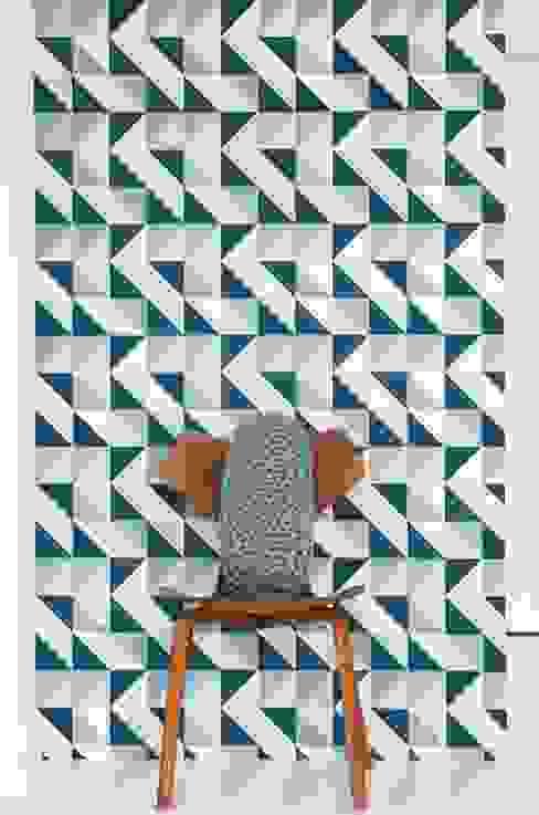 Tường & sàn phong cách tối giản bởi Carta da parati degli anni 70 Tối giản