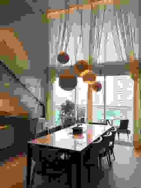 por Elaine Hormann Architecture -Sao Paulo - Hamburgo Moderno Alumínio/Zinco