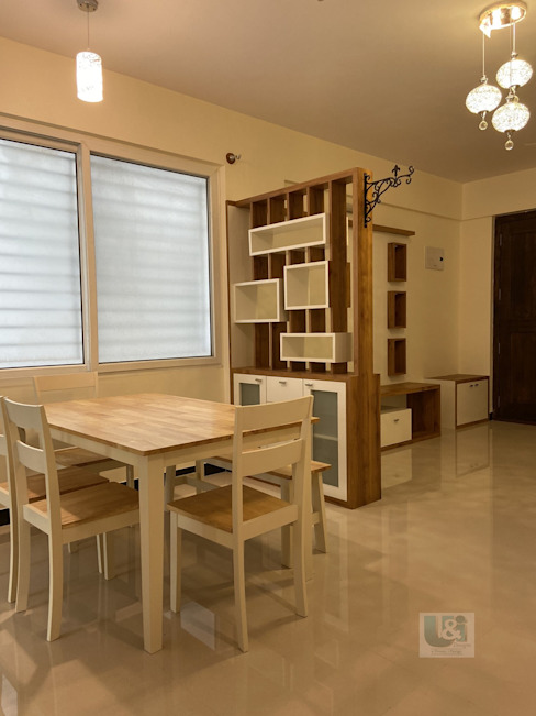 Dining Area Modern dining room by U and I Designs Modern Plywood