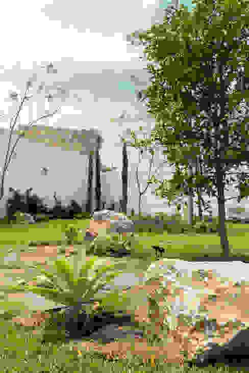 Detalle área de frutales Boceto Arquitectos Paisajistas Jardines de estilo moderno