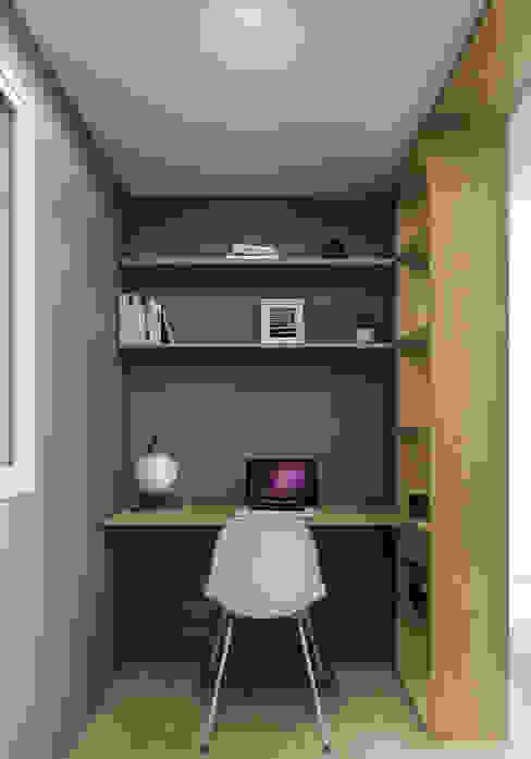 1703 - Apartamento C HOA Architecture and Design Estudios y despachos de estilo moderno