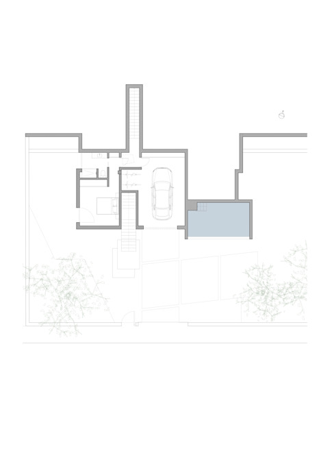 Planta baja. Estancias secundarias. de Barreres del Mundo Architects. Arquitectos e interioristas en Valencia.
