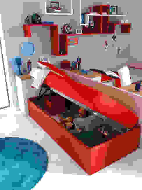 Divano letto Lima con box contenitore di Moretti Compact Moderno