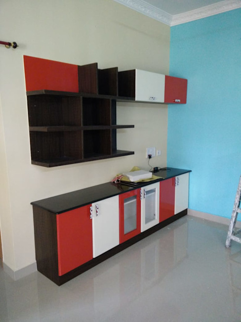 TV unit: classic  by Ajith interiors,Classic Plywood