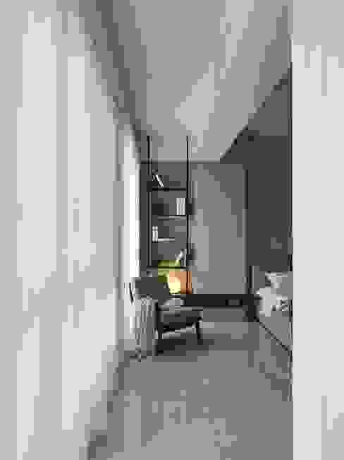 1BHK Project : minimalist  by Rebel Designs,Minimalist Wood Wood effect