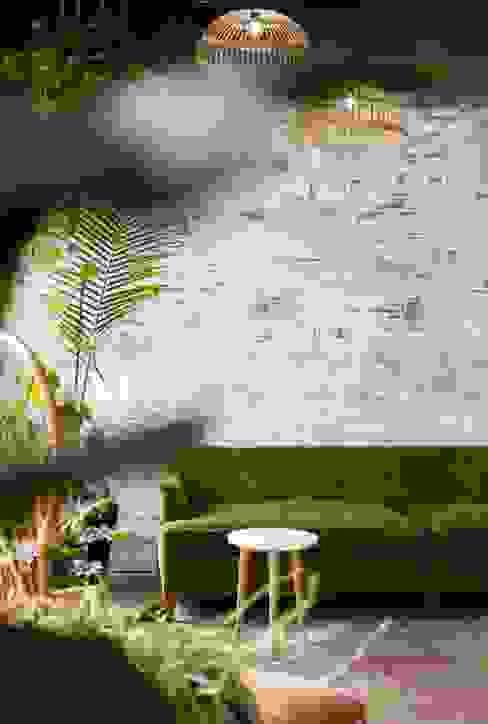 2BHK Project Colaba Minimalist living room by Rebel Designs Minimalist Plywood