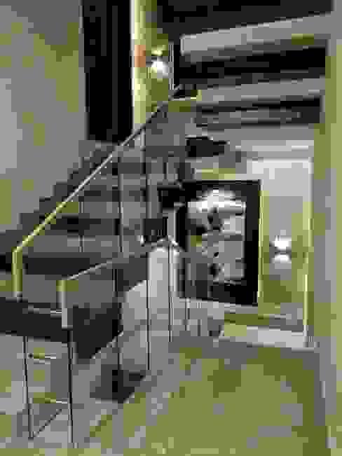 3 BHK Modern residential interior, location Kirti nagar delhi by Eagle Decor Modern Wood Wood effect