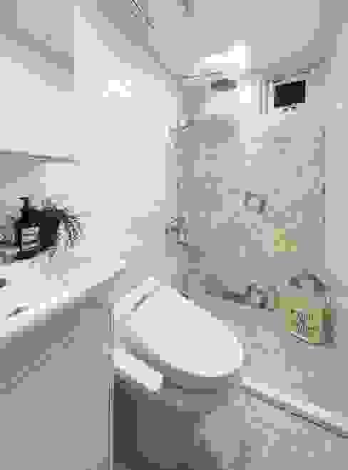 浴室 一葉藍朵設計家飾所 A Lentil Design Country style bathroom