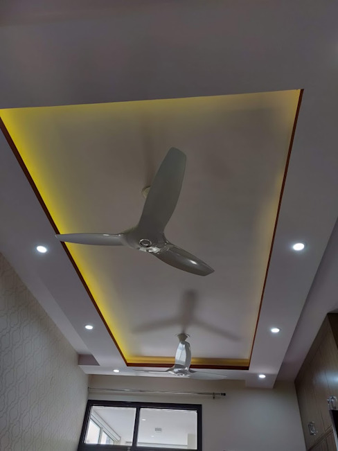 Gypsum False Ceiling by Design Kreations Modern