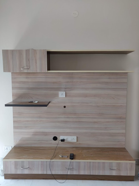 LCD unit by Design Kreations Modern Plywood