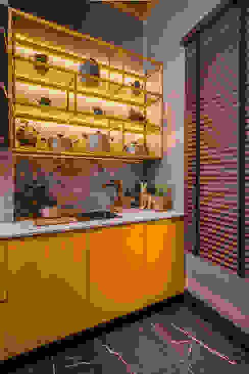Loft del Arqueólogo Cocinas de estilo ecléctico de Luis Escobar Interiorismo Ecléctico
