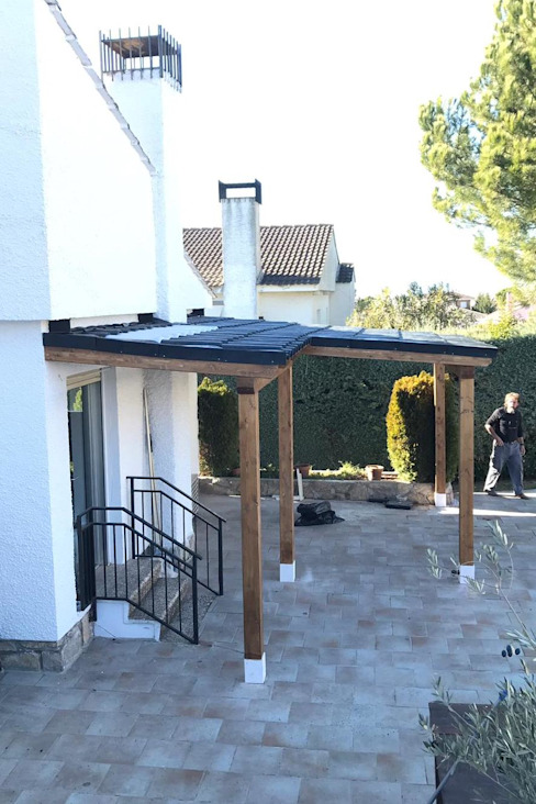 Roofeco System SL Lean-to roof Plastic Black