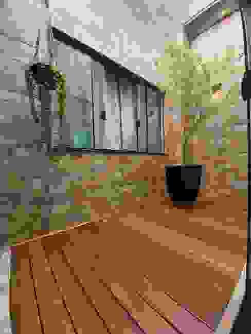 Monteiro arquitetura e interiores Modern conservatory