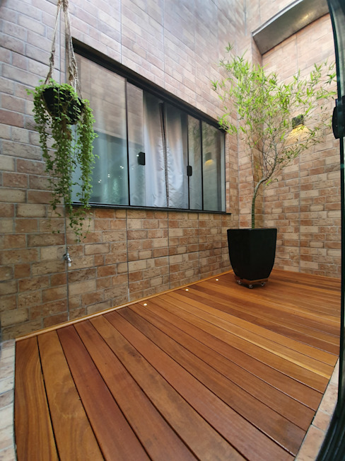 Monteiro arquitetura e interiores Anexos de estilo moderno