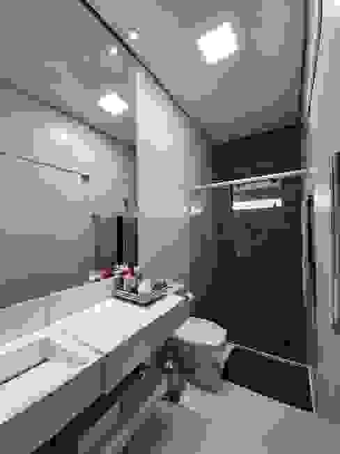Monteiro arquitetura e interiores Baños de estilo moderno