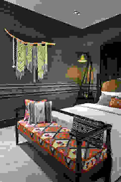 HOTEL DESIGN SHOW 2019 Mimoza Mimarlık Tropikal Yatak Odası