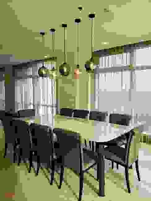 Classic Contemporary Geraldine Oliva Minimalist dining room
