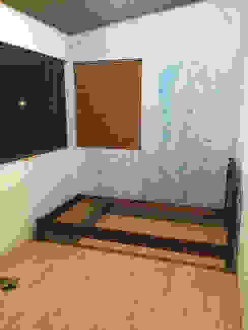 Decoración de muro interior PyH Diseño y Construcción DormitoriosAccesorios y decoración Azul