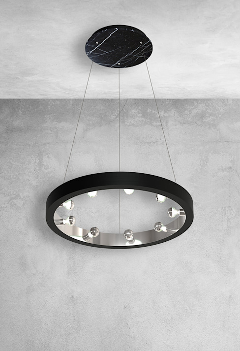 Designer ceiling pendant light: modern  by Luxury Chandelier, Modern Marble