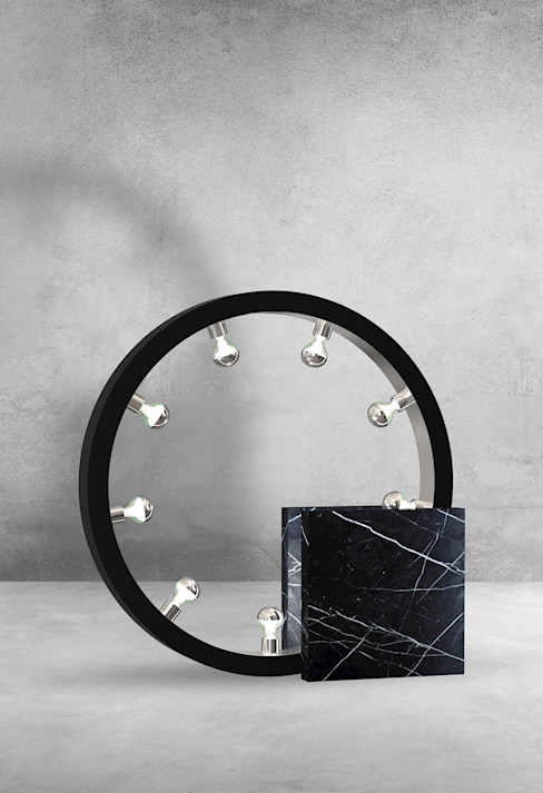 Marble bedside table lamps : modern  by Luxury Chandelier, Modern Marble