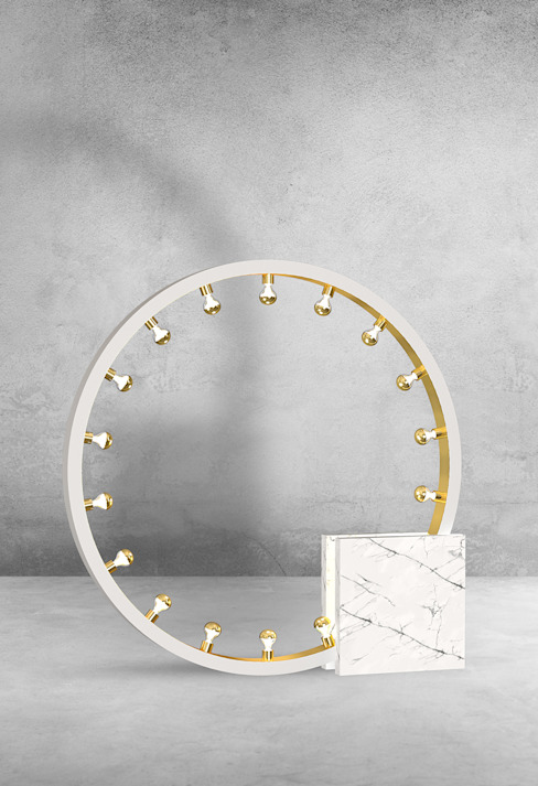 Collection of Marble lamps designed by International Fashion Designer: modern  by Luxury Chandelier, Modern Marble