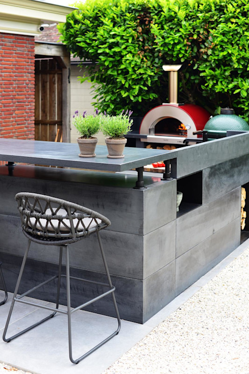 Outdoor kitchen counter Alfa Forni Built-in kitchens