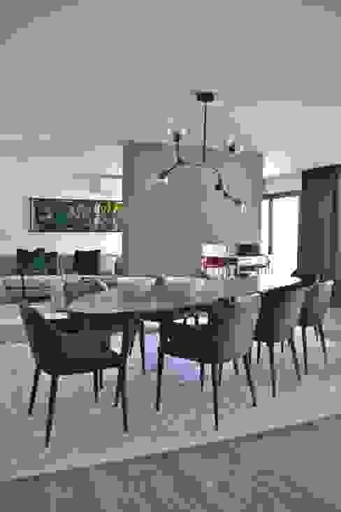 VINT Apartamento Masculino - Sala/Sala de jantar Salas de jantar ecléticas por Vint Interior Design Eclético