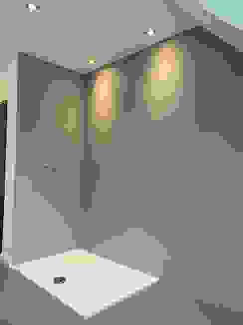 Fugenloses Badezimmer (Nachher) von Wandwerk