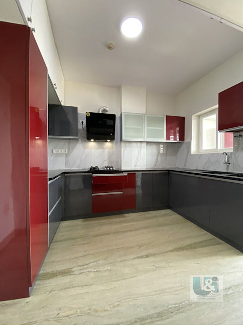 Kitchen by U and I Designs Modern