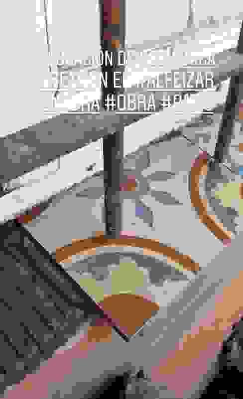 Colocación de nuevo alfeizar DUSINSKY S.A. Casetas de jardín