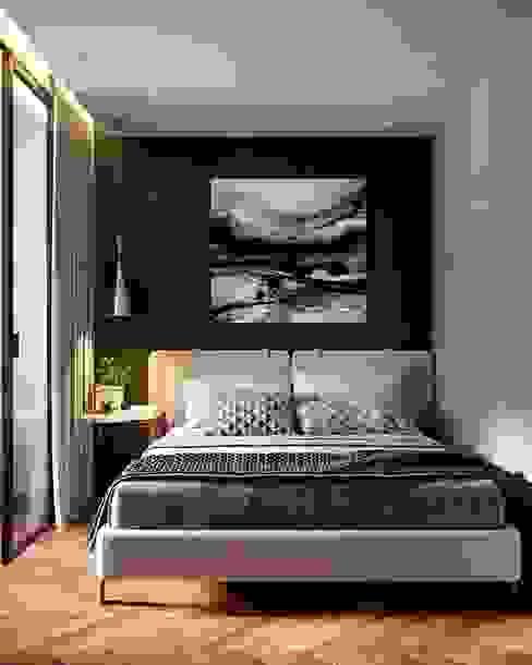 Квартира 50м.кв. г.Москва Спальня в скандинавском стиле от Orel Andre Скандинавский