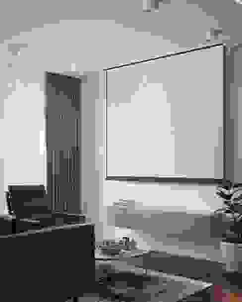 Квартира 50м.кв. г.Москва Гостиная в скандинавском стиле от Orel Andre Скандинавский