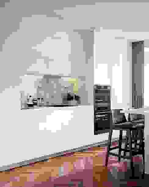 Квартира 50м.кв. г.Москва Кухня в скандинавском стиле от Orel Andre Скандинавский