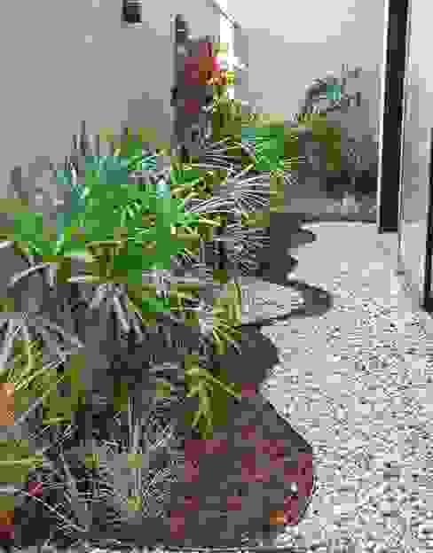 Projeto residencial Luzia Benites - Arquiteta Paisagista Jardins de pedras