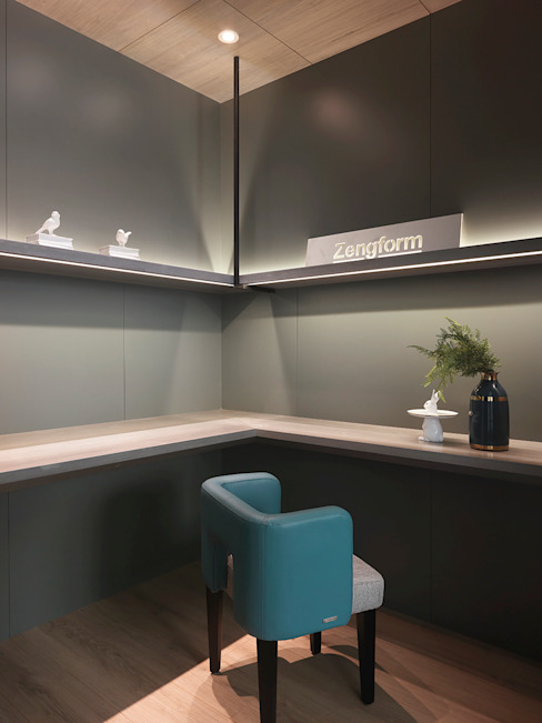 Modern study/office by 肯星室內設計 Modern