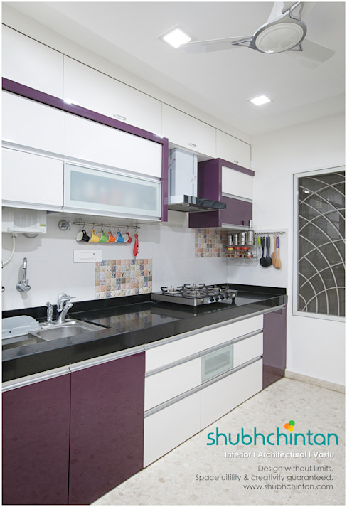 Kitchen: modern  by Shubhchintan Design possibilities,Modern Wood-Plastic Composite