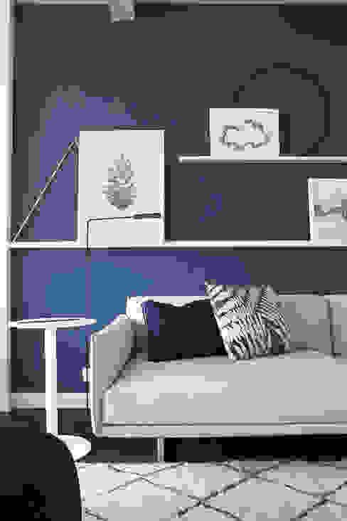 PURE styling Soggiorno in stile scandinavo Legno Blu