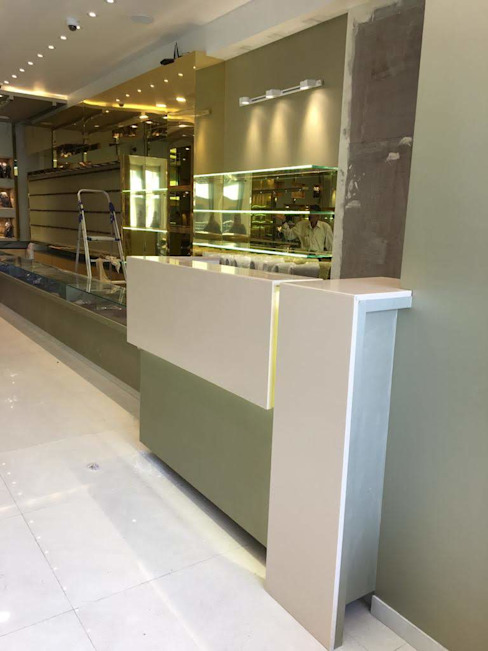 Cash Counter Asian style walls & floors by DezinePro Asian