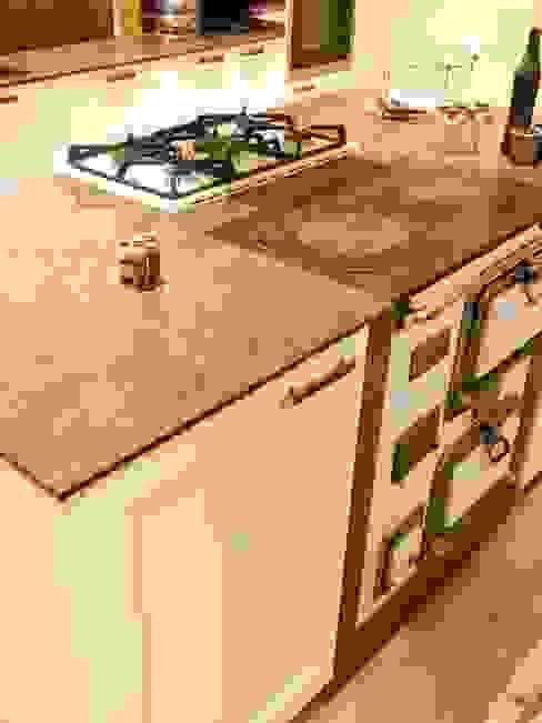 Encimera recuperada Lala Decor HomeStaging & Reformas Integrales de pisos CocinaEncimeras