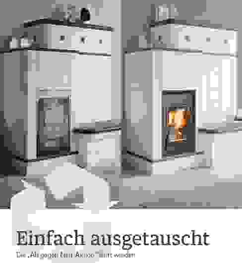 Alter Kamineinsatz gegen ein neuer austauschen von Kaminöfen-Schornsteine Blotta & Kluger GbR