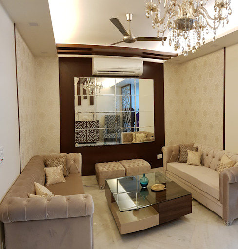 Living Room small Size Asian style living room by Esthetics Interior Asian