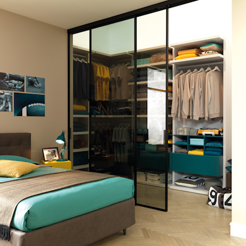 Modern Bedroom by Moretti Compact Modern