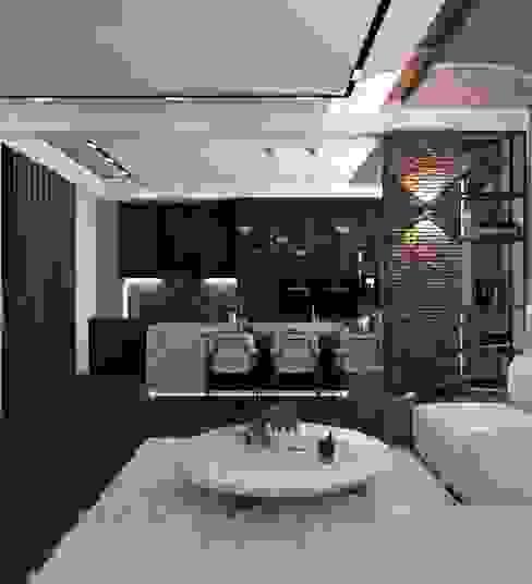 MODERN HOUSE / TOKAT Murat Aksel Architecture Modern Mermer