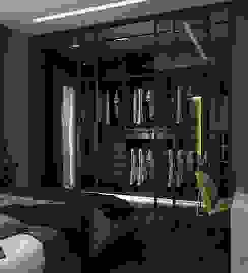 MODERN HOUSE / TOKAT Modern Giyinme Odası Murat Aksel Architecture Modern Ahşap Ahşap rengi