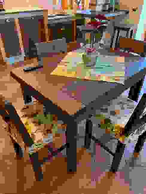 il falegname di Diego Storani КухняСтоли та стільці