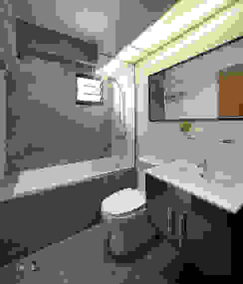 Main Bathroom View Minimalist style bathroom by Chapter 3 Interior Design Minimalist