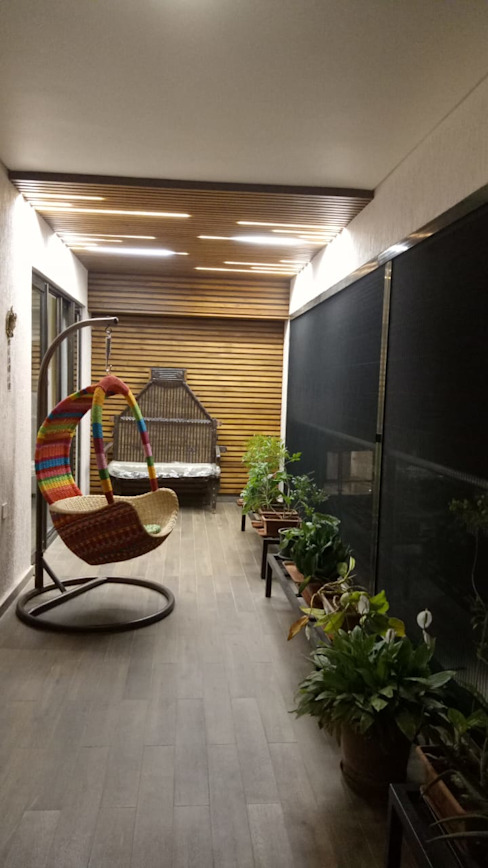 Interior work of 4.5 BHK apartment in kharadi, pune by Exemplary Services Modern