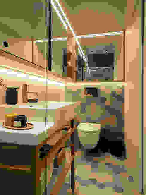 Badezimmer homify Moderne Badezimmer Fliesen