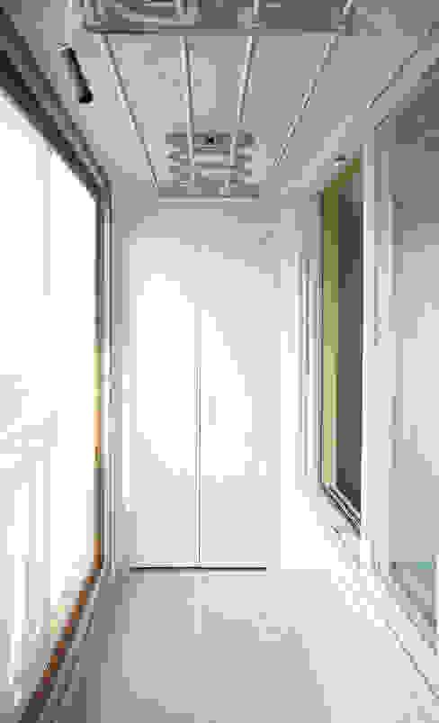 동수원자이1차 아파트인테리어 디자인모리 모던스타일 발코니, 베란다 & 테라스