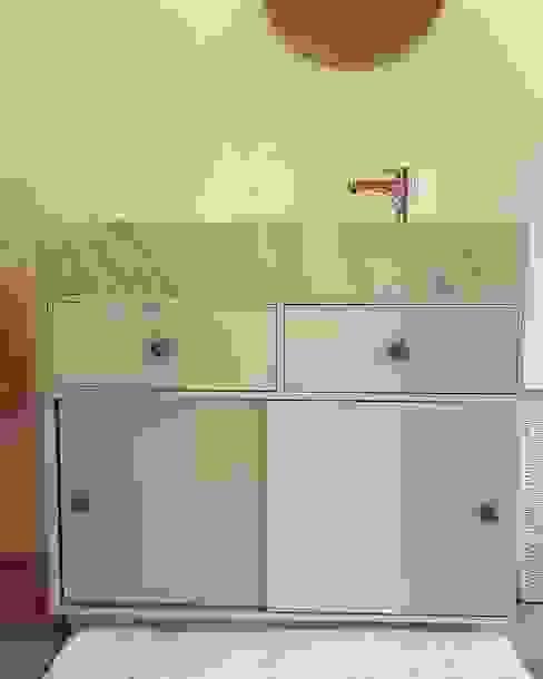 MOKALI Carpintería Residencial BathroomSinks Wood White